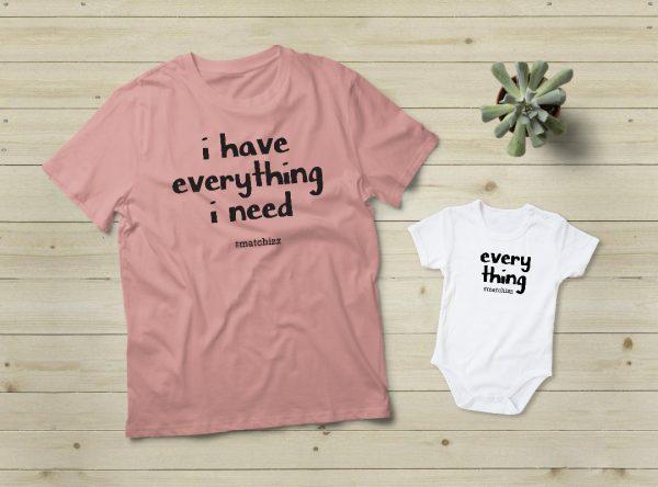 מתנה לאמא - Everything I Need | ורוד
