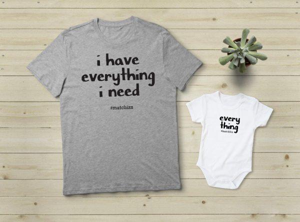 מתנה לאמא - Everything I Need | אפור