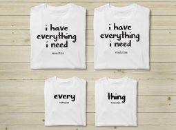 בגדים תואמים למשפחה – Everything I Need