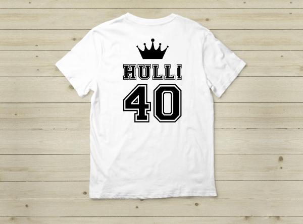 מתנה ליום הולדת חולצה עם מספר