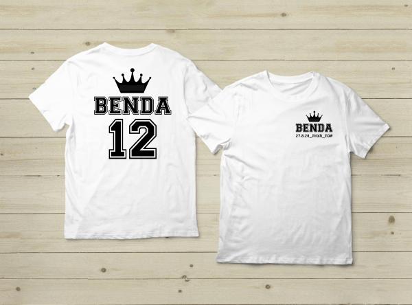 מתנה ליום הולדת חולצה עם מספר וכתר
