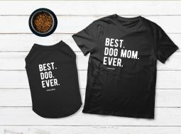 בגדים לכלבים – מתנה לכלב ולאמא Best Dog Mom