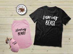 בגדים לכלבים – מתנה לכלב ולבעליו Beauty & Beast