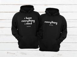 בגדים תואמים לזוגות קפוצ'ון באנגלית – Everything