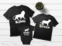 בגדים תואמים למשפחה אריות
