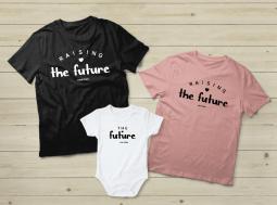בגדים תואמים למשפחה – Raising the Future