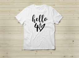 חולצה מתנה ליום הולדת – Hello